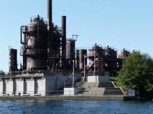 Gas Works Park - Industrial