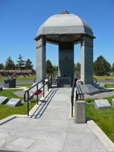 Jimi Hendrix - Gazebo Memorial